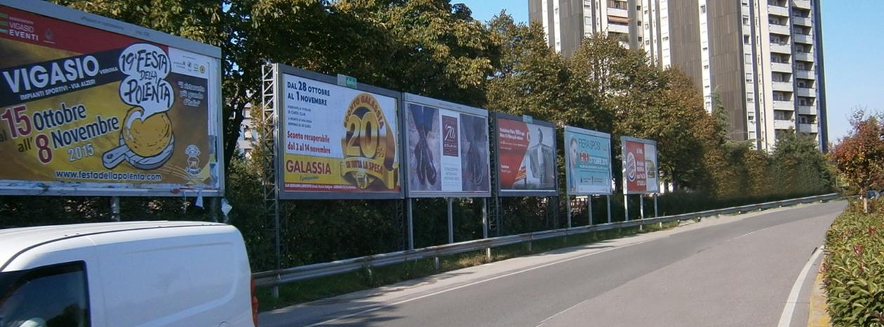 Affissione poster e manifesti