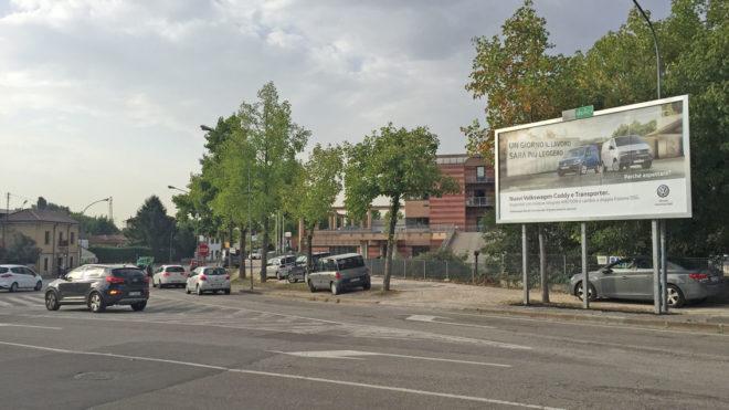 Zona centro 6X3 POSTER VR Basso Acquar incrocio via Fedrigoni