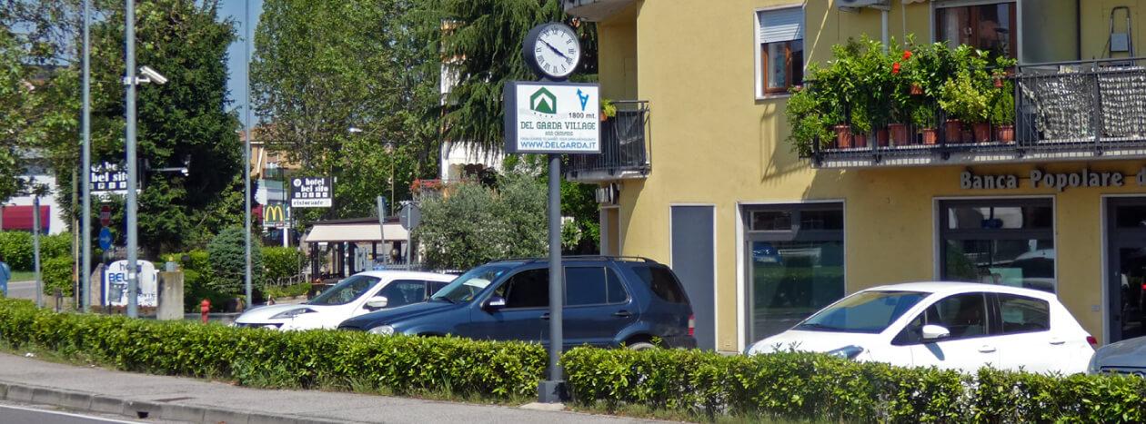 Orologi pubblicitari