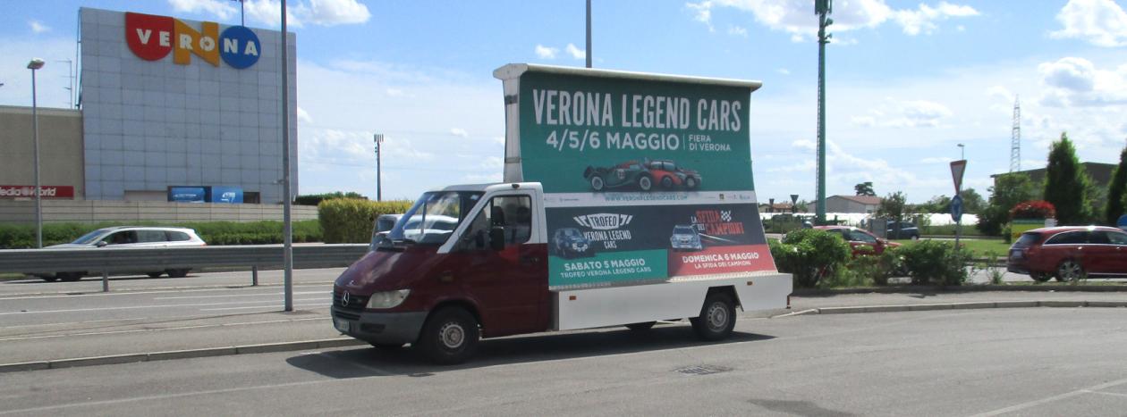 Mezzi e veicoli pubblicitari